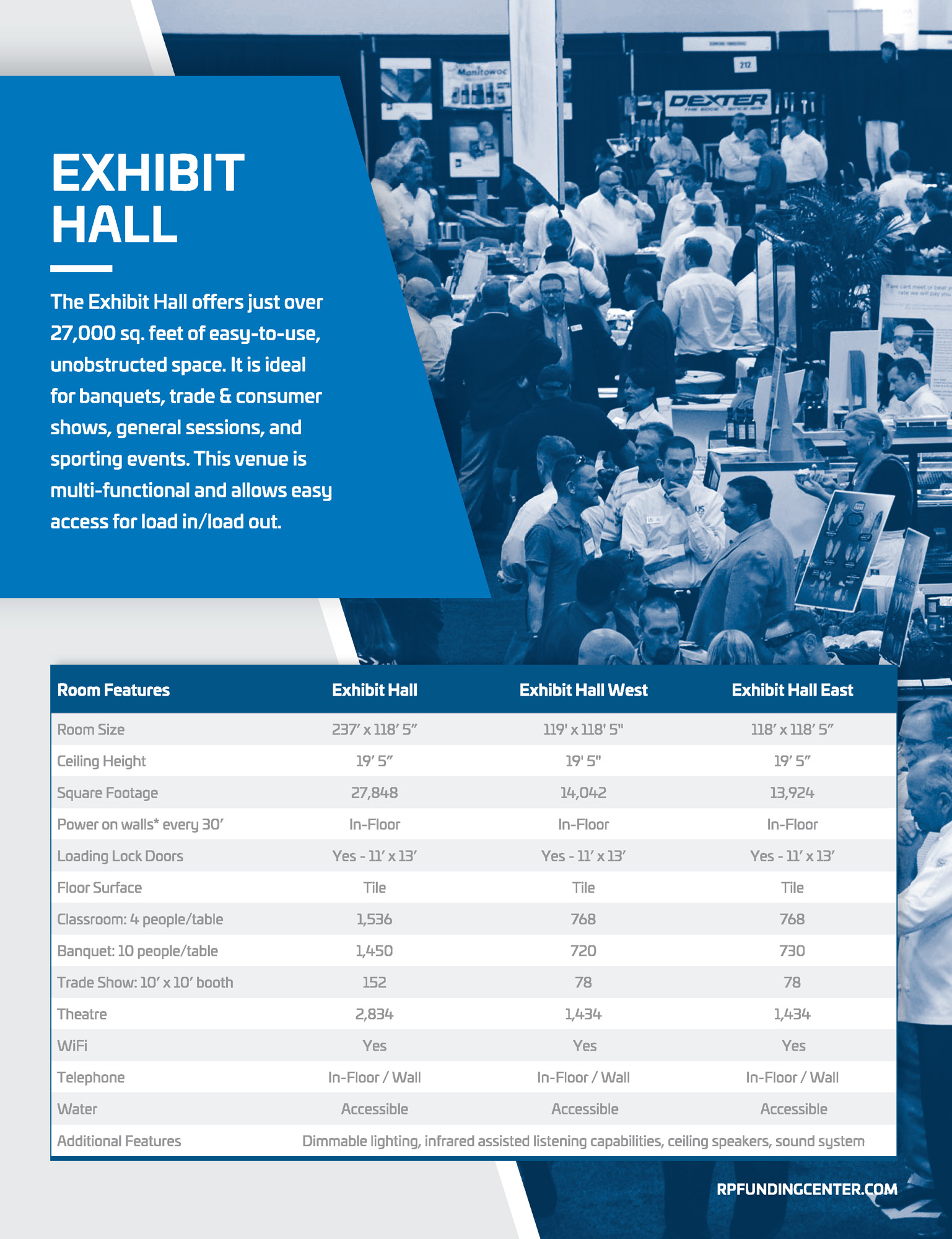 Exhibit Hall Specs