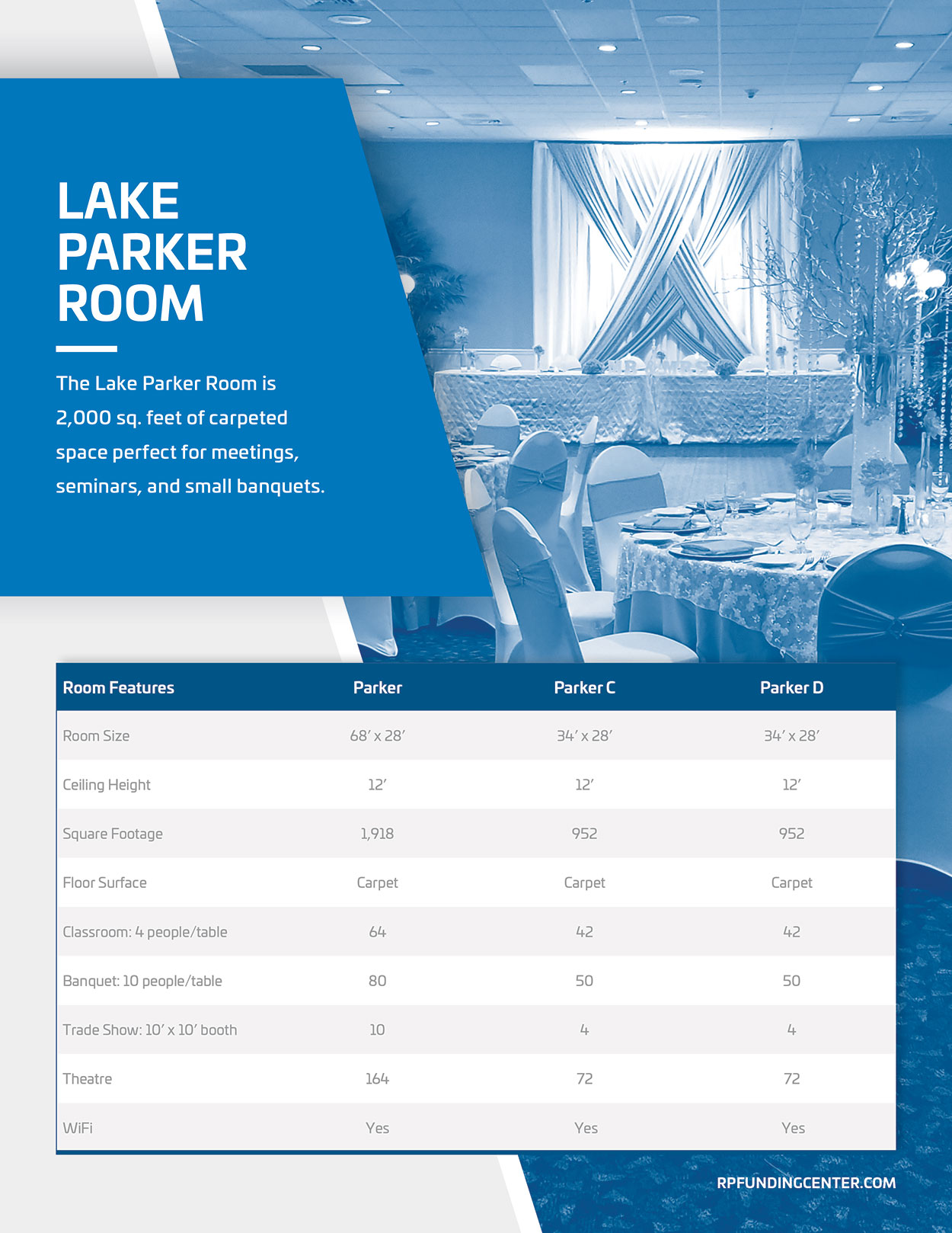 LakeParker Room Map